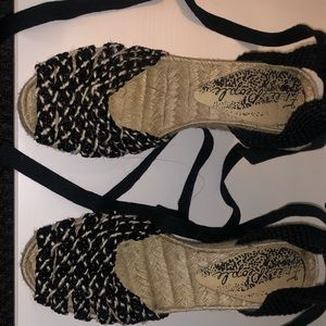 Free people espadrille lace up